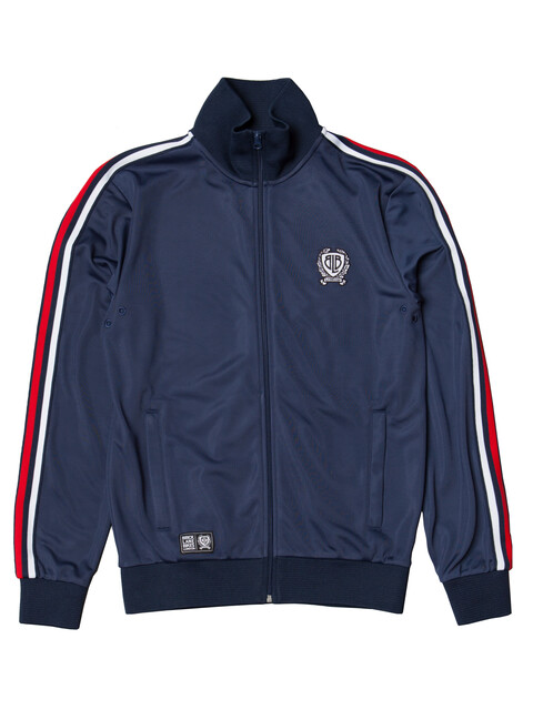 Brick Lane Bikes London BLB Taped - Sweat à capuche Homme - bleu/blanc